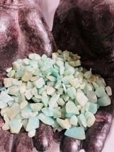 1 LB Amazonite Gemstone Chips 5-10mm Reiki Healing Crystals Harmony Free... - $9.99