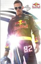 2009 SCOTT SPEED #82 RED BULL NASCAR POSTCARD SIGNED - $8.75