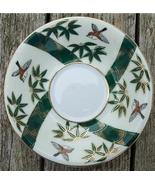 Old Shafford Hand Painted Japan Saucer Bamboo #SH2001 - $4.00