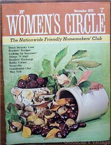 Woman's Circle Magazine, November 1972, 15 - 7 Crafts