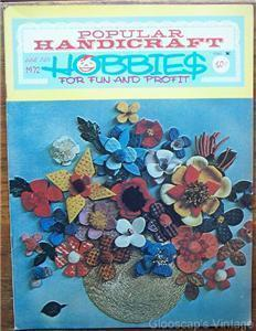 Popular Handicraft Magazine, June July 1972 V8 No2