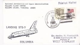 LANDING STS-9 COLUMBIA WALLOPS ISLAND, VA DECEMBER 8, 1983 - $1.98