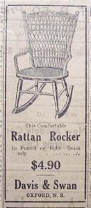 Primary image for 1920 Rattan Rocker, Beaver Board, & Brantford Slate Ads