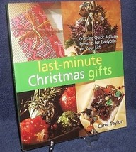 Christmas Gifts Last Minute Crafts Quick and Easy Carol Taylor Like New - $15.00