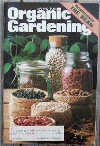 Primary image for Organic Gardening Magazine, May 1982 Rediscover Beans