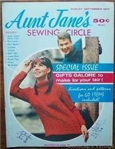 Aunt Jane's Sewing Circle Magazine, Aug Sep 1972 V4 No2 - $4.50
