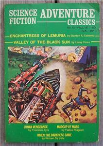 Science Fiction Adventure Classics No. 15 Fall 1971