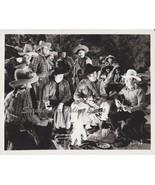 Gene Autry Frog Smiley Burnett Around Campfire 8x10 Photo BWS 801-28 - $6.99