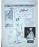 1958 Silknit Romantic Fashion Terylene Lingerie Ad - $4.00