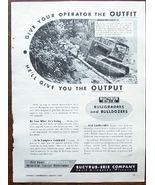1953 Bucyrus-Erie Bullgraders and Bulldozers Ad - $3.00