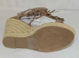 BF Betani Shiloh 8 Stone Fringe Wedge Heel Sandals Size 7 And Half image 6