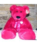 2001 Ty Valentina Bear Large Retired - $50.00