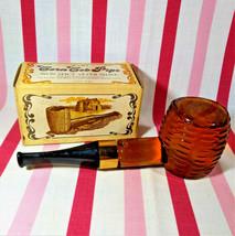 Fantastic 1970's Avon Corn Cob Pipe Decanter Avon Spicy After Shave + Box FULL - $10.00