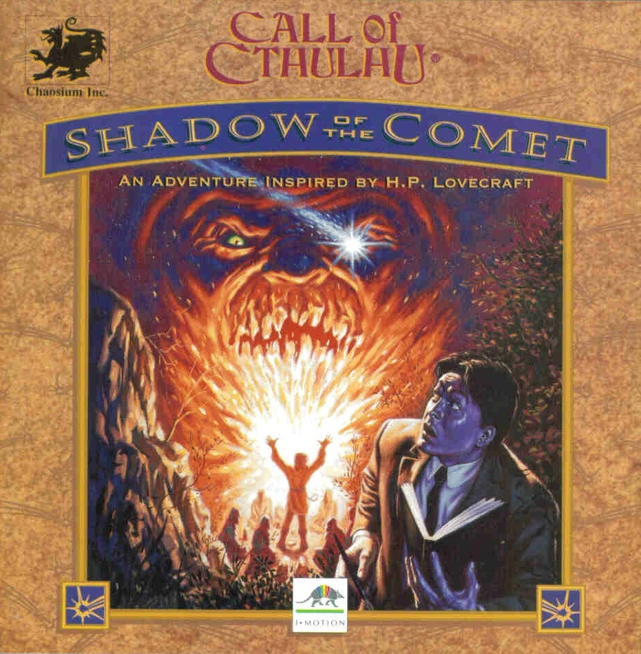 Call of Cthulhu: Shadow of the Comet [DOS]