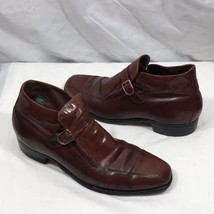 Vintage Florsheim Shoe Imperial Quality Brown Leather Dress Boots Shoes  10.5 B -  37.50 ed596e0cfb7