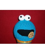 Crochet Sesame Street Cookie Monster Hat Beanie... - $25.00