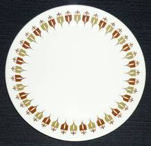 Syracuse China Vintage Captains Table Syralite Salad Plate White Red Green - $8.95