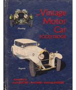 The Vintage Motor Car Pocketbook - $15.00