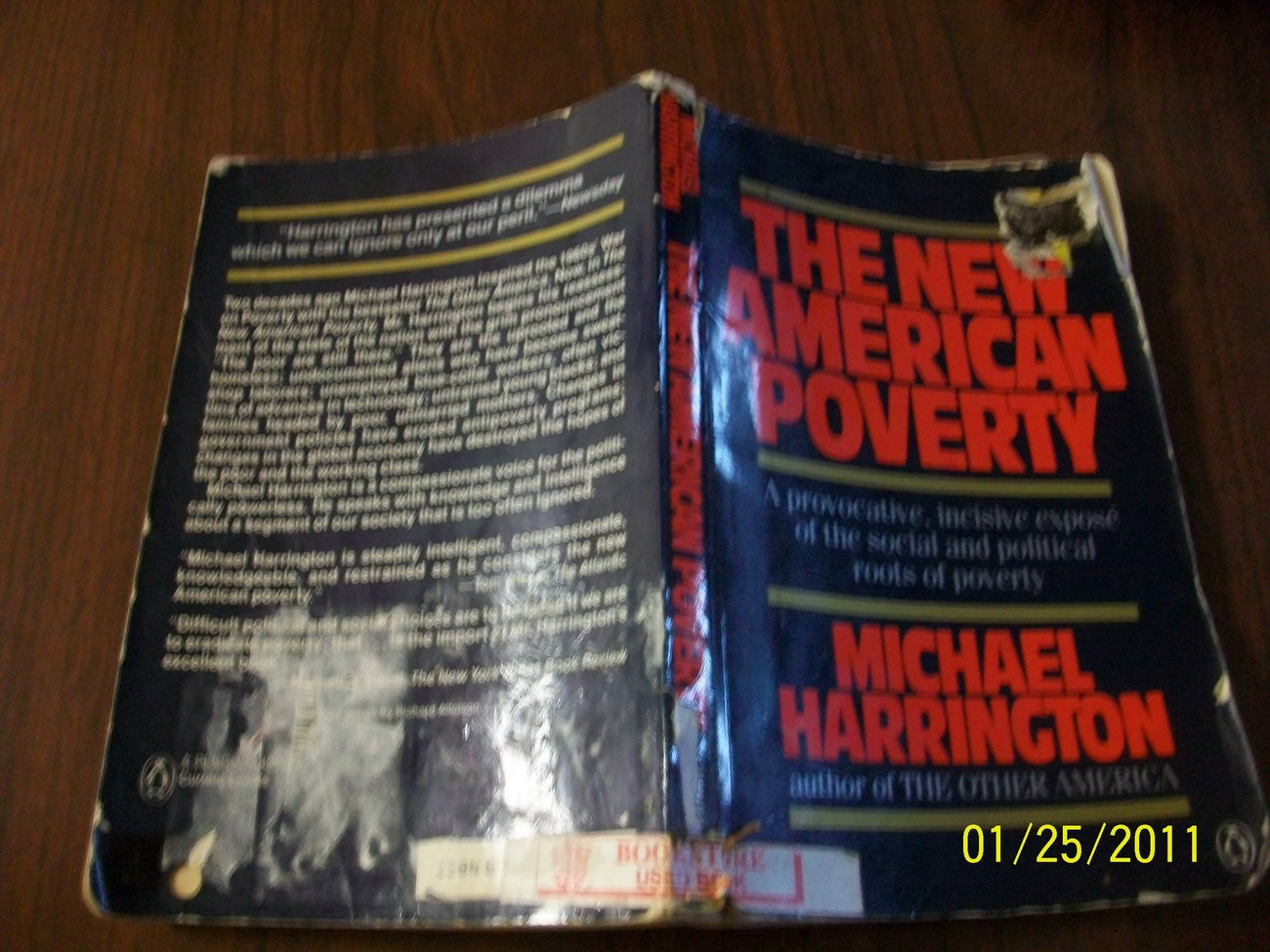 Michael Harrington, The new American Poverty, ISBN 0140081127