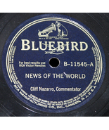 """Cliff Nazarro """"You Go Your Way & News Of The World"""" - $5.00"""