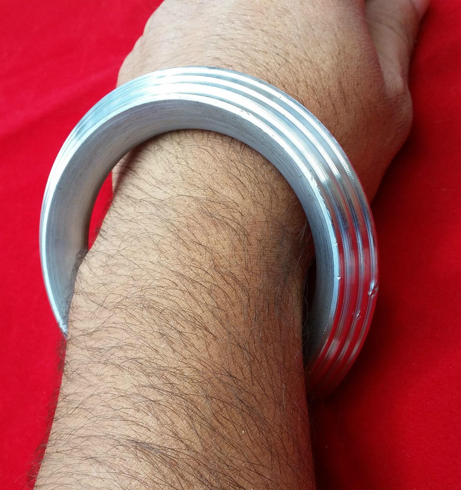 S1 Extra Grueso Siete Líneas SARBLOH ACERO Hierro Puro Sij Singh Khalsa Pesado