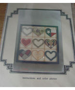 "Painting Pattern : Wall Decor ""Heart Sampler"" - $5.00"