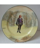 "Antique HAMLET 10½"" DINNER PLATE Shakespeare Series G by ROYAL DOULTON 1... - $20.60"