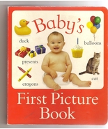 Baby's First Picture Book - $8.99