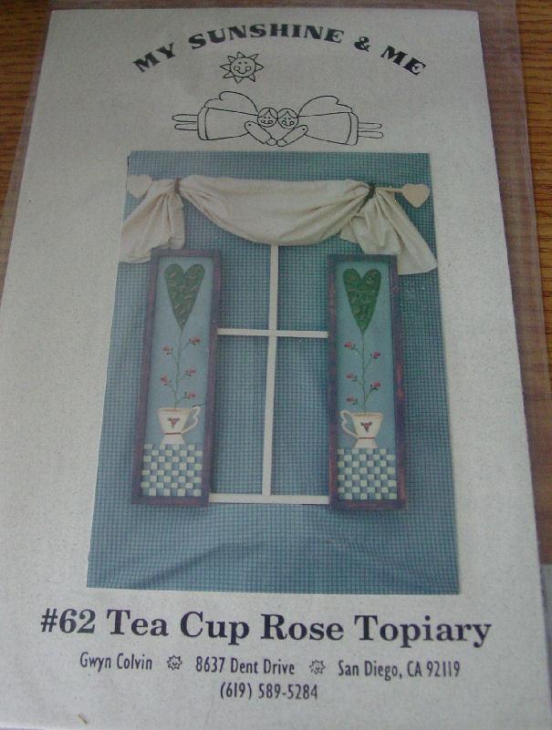 Tea cup rose