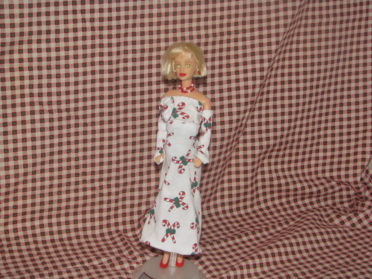 Pregnant Fashion Doll Arianna OOAK Christmas Barbie