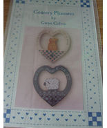 "Painting Pattern ""Country Pleasures""  Cat or Sheep in Heart - $5.00"