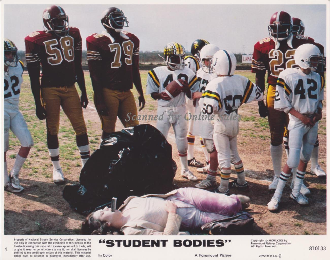 Student Bodies 8x10 Lobby Card No.4
