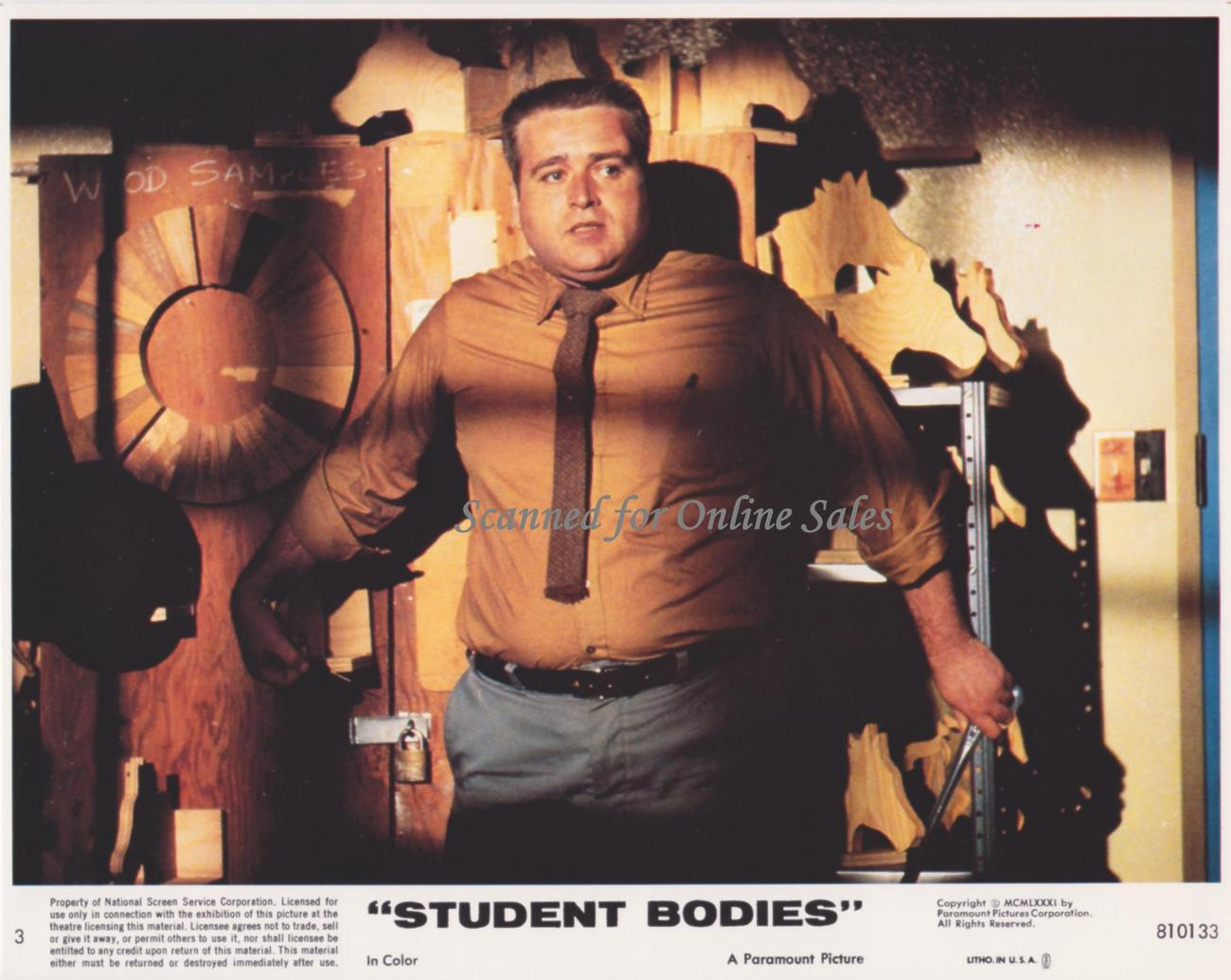 Student Bodies 8x10 Lobby Card No.3