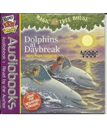 Dolphins at Daybreak CD Audiobook Magic Tree House Osborne Wendys Kids Meal - $4.93
