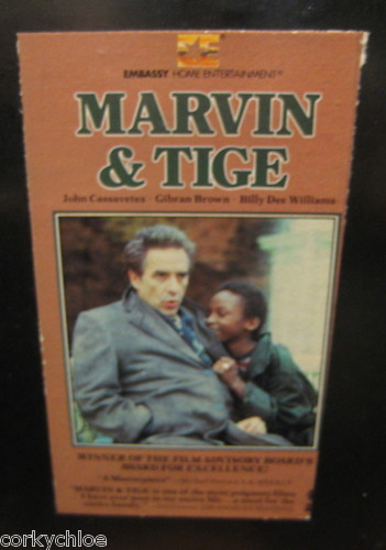 "Vtg Movie ""Marvin & Tige"" Cassavetes/Brown/Williams FREE USA SHIP Beta VIDEO"