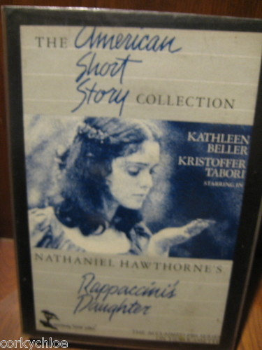 "Vtg Movie ""Rappaccini's Daughter"" By N Hawthorne Beller/Tabo FREE USA SHIP Beta"