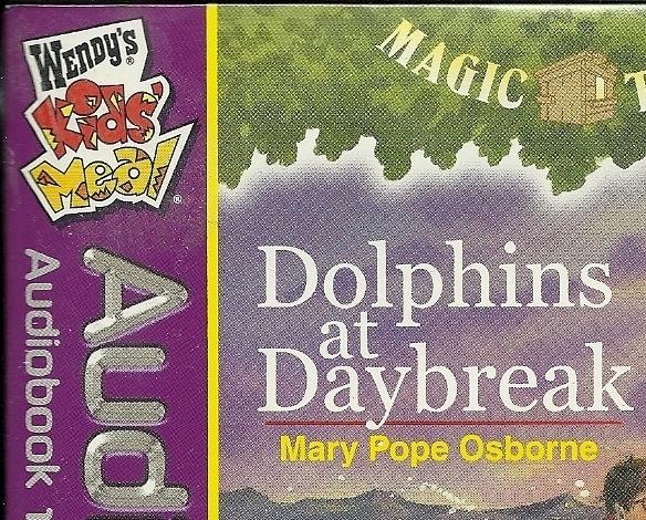 Dolphins at Daybreak CD Audiobook Magic Tree House Osborne Wendys Kids Meal