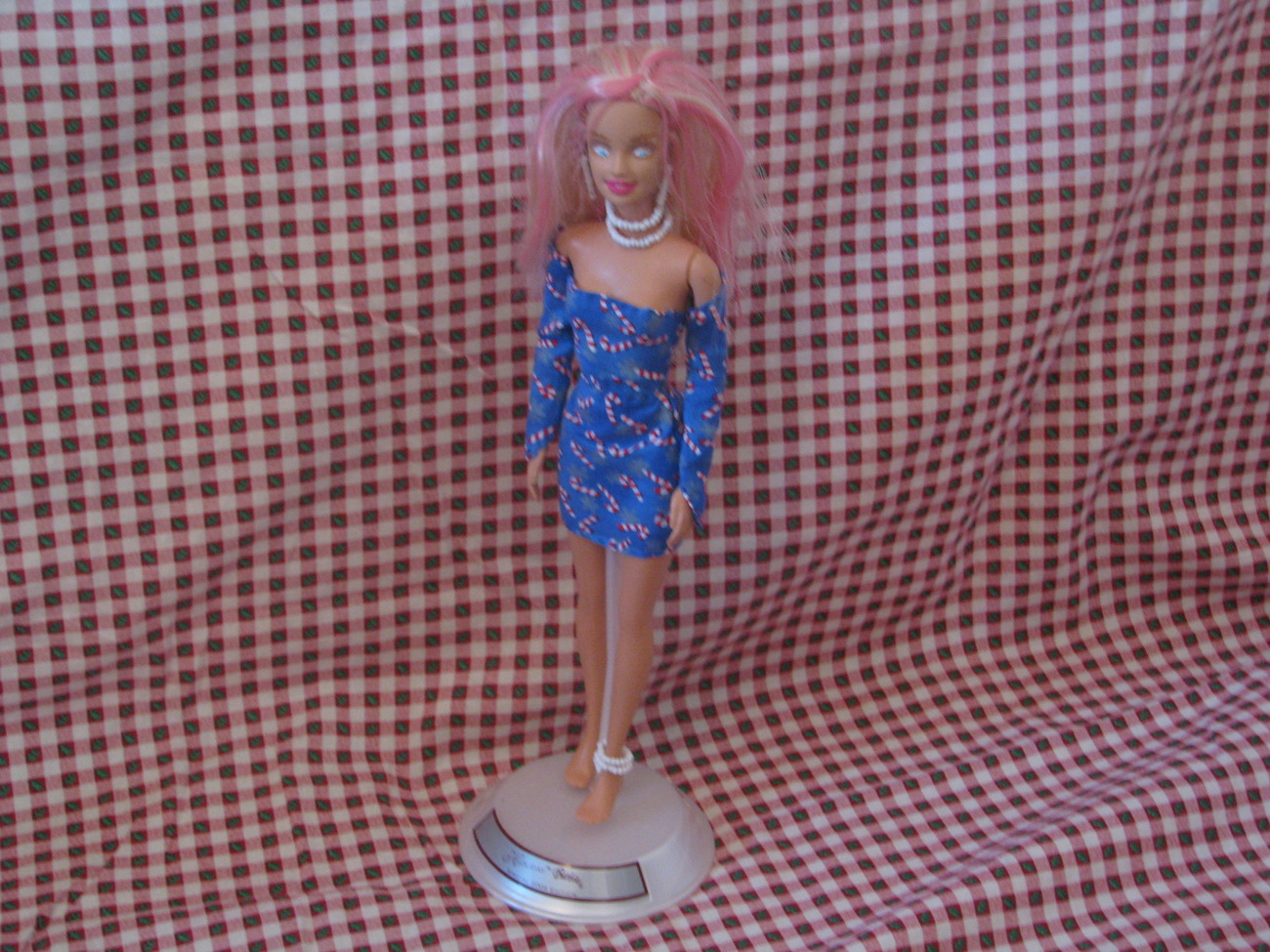 Fashion Doll Deandra OOAK Christmas Barbie