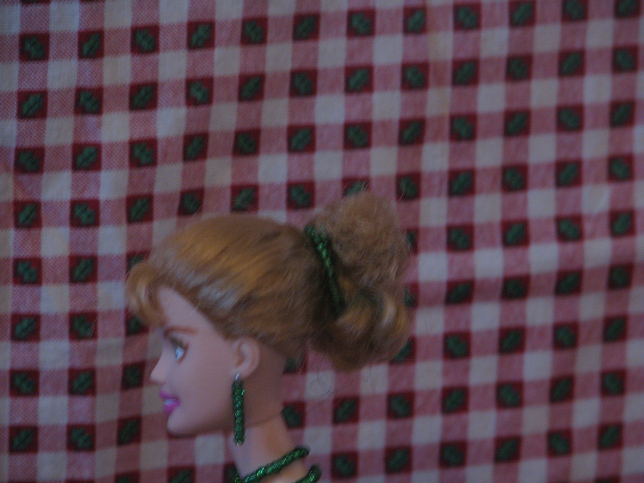 Fashion Doll Hayley OOAK Christmas Barbie