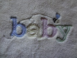 Carter's Baby Blanket Fuzzy Yellow Satin Trim B... - $27.44