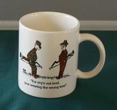 "Archery Hunters Mug ""Your Wearing The Wrong Tree"" VGC - $8.00"
