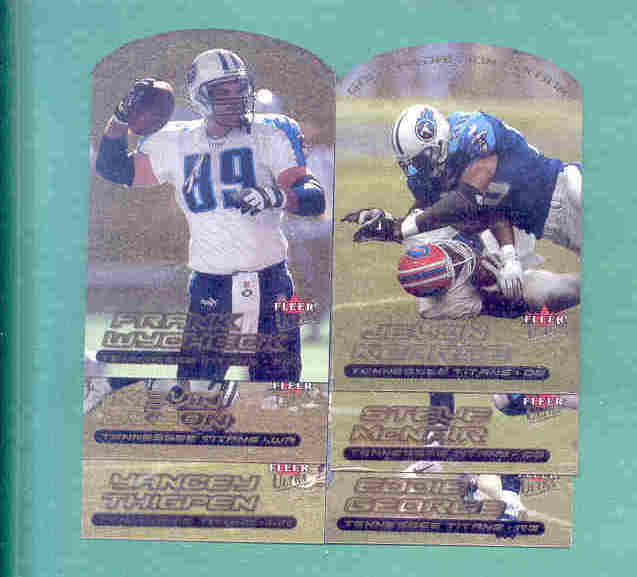2000 Ultra Gold Medallion Tennessee Titans Football Set