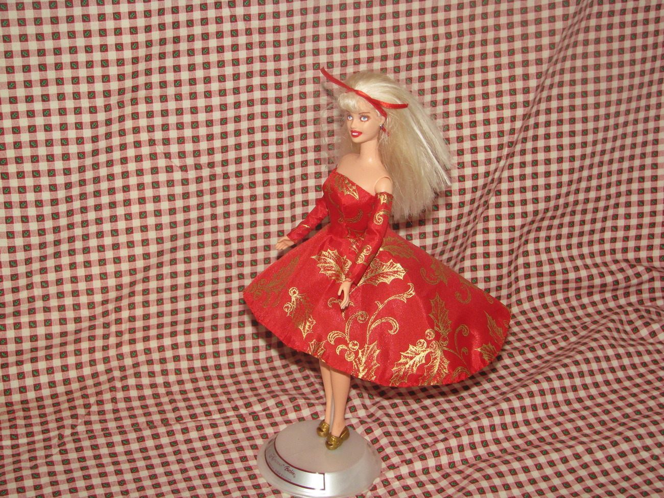 Fashion Doll Noel OOAK Christmas Barbie