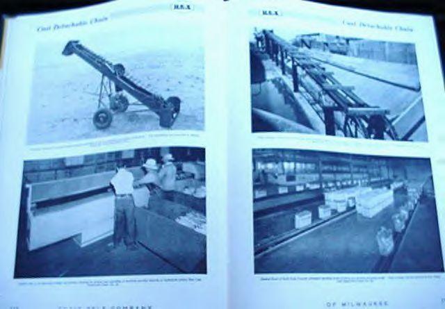 1950 Chain Belt Co. Milwaukee Catalog 520 Conveyor Chains