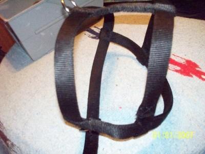 Black Dog Harness USA Made Metal Hardware Medium