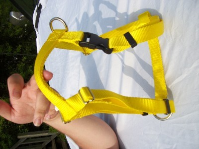 Extra Large Adjustable Dog Harness Free Pet ID Tag