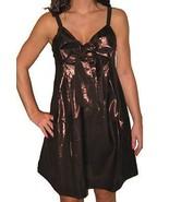 NWT LAROK Dress metallic brown gold designer tu... - $84.99
