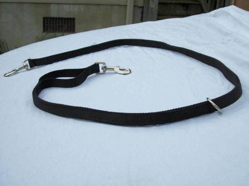 Hunting Dog Leash 2 Snaps O Ring Heavy Duty USA Made