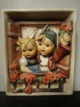 Hummel Wall Plaque ~ #125 Vacation Time (1960-1972 production) - $47.25