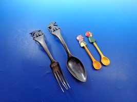 Wood Salad And  Novelty Spoons Set (#4118) - $49.00